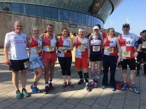 Massey R'n'R Marathon Runners